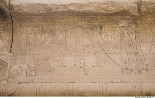 Egypt Dendera Hieroglyphics