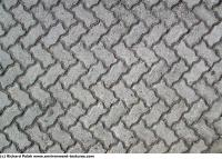 Photo Texture of Herringbone Floor
