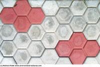 Photo Texture of Hexagonal Tiles