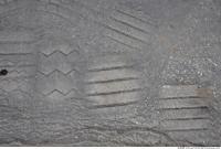 asphalt trace