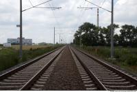 Photo Texture of Background Railways