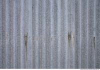 Photo Texture of Metal Corrugated Plates Galvanized
