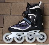 free photo texture of roller skates