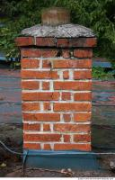 Photo Texture of Brick Chimney