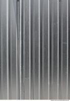 Photo Texture of Metal Corrugated Plates Bare
