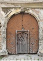 Photo Texture of Wooden Double Door 0006