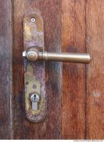Photo Texture of Doors Handle Historical 0004