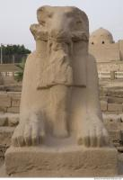 Photo Reference of Karnak Statue 0004