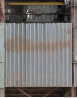 Photo Texture of Metal Corrugated Plate