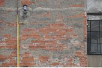 Photo Texture of Wall Brick Plastered 0004