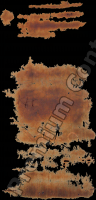 photo texture of rusted decal 0003