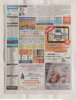 photo texture of newspaper 0012