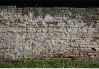 photo texture of wall brick plastered