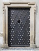 photo texture of door metal ornate 0001