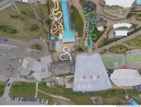 photo texture of aquapark from above 0001