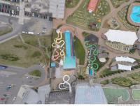 photo texture of aquapark from above 0002