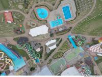 photo texture of aquapark from above 0003