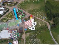 photo texture of aquapark from above 0005