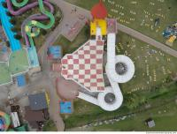 photo texture of aquapark from above 0006