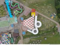 photo texture of aquapark from above 0007