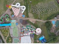 photo texture of aquapark from above 0011