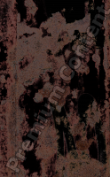 photo texture of rust decal 0001