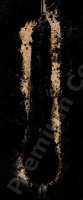 photo texture of rust decal 0006