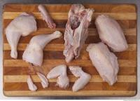 photo texture of chicken meat 0007