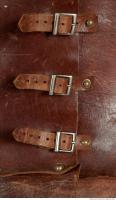 photo texture of buckles leather  0008