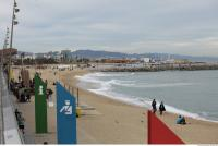 background barcelona beach 0003