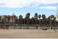 background barcelona beach 0007