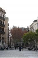 background barcelona street 0004