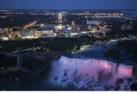 background niagara falls night 0002