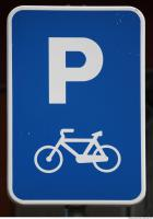 free photo texture of parking traffic signs
