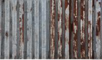 metal corrugated plates rusted 0003