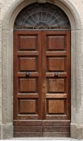 doors wooden double 0002