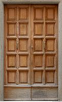 doors wooden double 0003