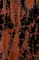 decal rusted