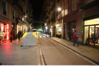 background night street Barcelona 0002