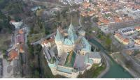 bojnice castle from above 0003