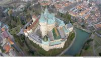 bojnice castle from above 0015