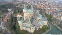 bojnice castle from above 0019