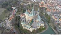bojnice castle from above 0020