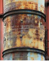 metal chimney rusty 0011