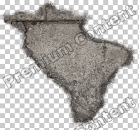 decal asphalt damaged 0009