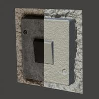 3D Scan of Power Switch