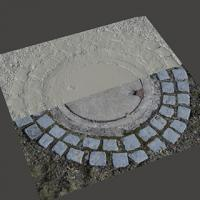 3D Scan of Manhole Cover #8