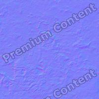 seamless wall plaster normal mapping 0001