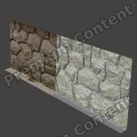 RAW 3D Scan of Wall Stones