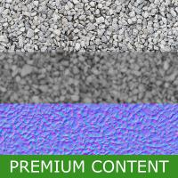 Seamless Textures of Gravel + Normal & Bump Mapping
